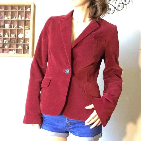 Bloomingdale's Jackets & Blazers - COMPTOIR DES COTONNIERS Le Vestiaire Velvet Blazer